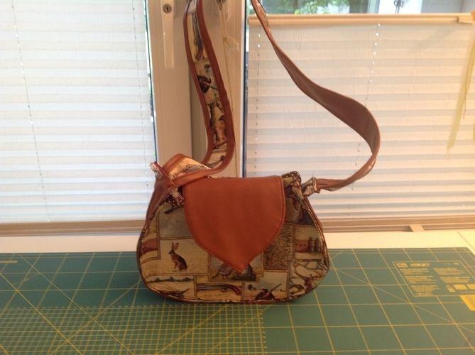 Makerist - Tasche mit Jagdmotiven - Nähprojekte - 1
