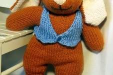 Makerist - Big Bunny toy knitting pattern - 1