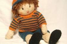 Makerist - Jesse doll- bright stripes jumper - 1