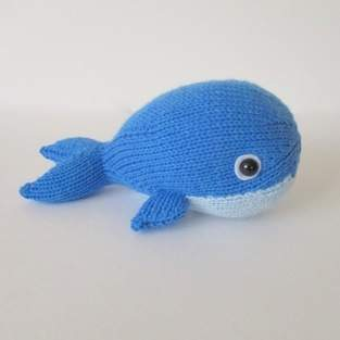 Makerist - Bob the Blue Whale - 1