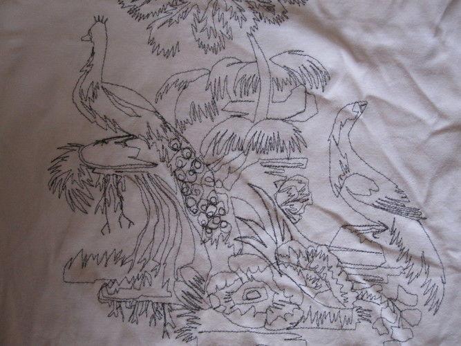 Makerist - Sticken mit der Nähmaschine - Textilgestaltung - 1