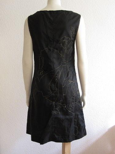 Makerist - Sticken mit der Nähmaschine als Kleid - Textilgestaltung - 1