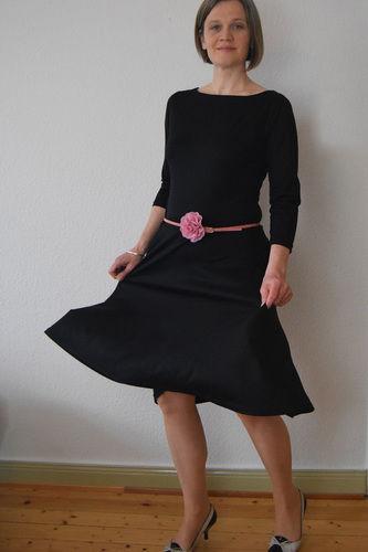 Makerist - Else Skater Dress - Patternhack und Tutorial - Nähprojekte - 1