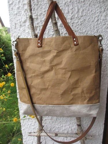 Makerist - SnapPap Tasche mit Lederhenkel - Nähprojekte - 1