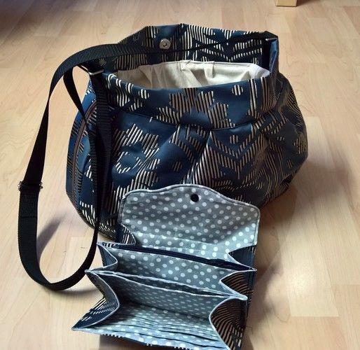Makerist - Tasche und passende Geldbörse - Nähprojekte - 1
