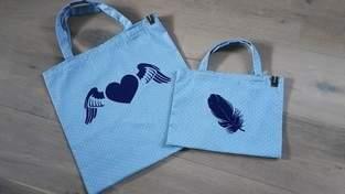 Makerist - Plastik adé - Jute in blau - 1