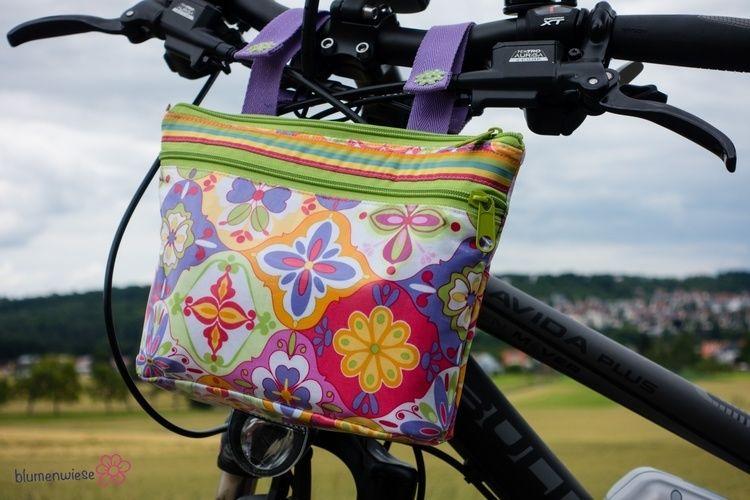 Makerist - Lenkertasche für's Fahrrad - Nähprojekte - 1