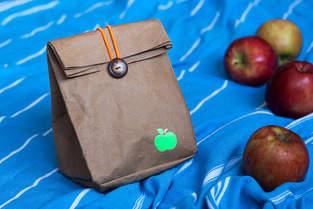 Makerist - Lunchbag: Apfeltüte - 1