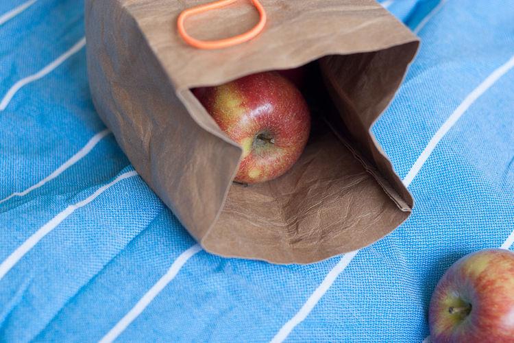 Makerist - Lunchbag: Apfeltüte - Nähprojekte - 3