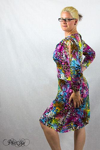 Makerist - Sunny als Kleid mit Wasserfallausschnitt - Nähprojekte - 1