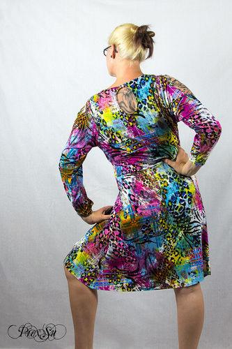 Makerist - Sunny als Kleid mit Wasserfallausschnitt - Nähprojekte - 2