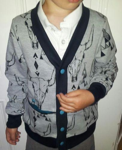 Makerist - coolit kleenit Jäckchen - Cardigan ROM - Nähprojekte - 1