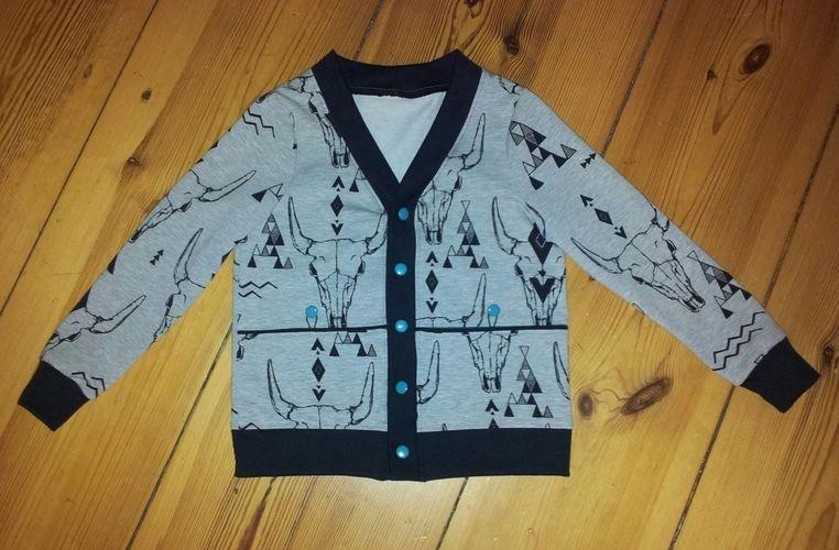 Makerist - coolit kleenit Jäckchen - Cardigan ROM - Nähprojekte - 3