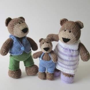 Makerist - The Three Bears - 1