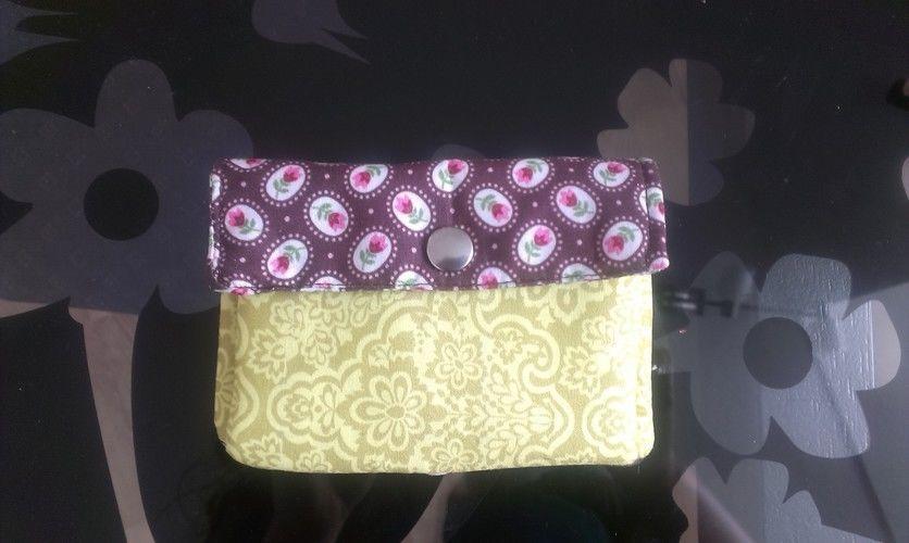 Makerist - erstes Portemonnaie, nur für mich B-) - Nähprojekte - 1