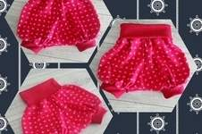 Makerist - kurze Pumphose Büxle aus Baumwolljersey für die Nichte - 1