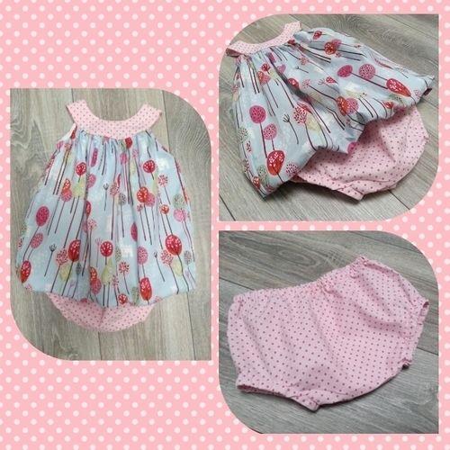 Makerist - Ballonkleid für die Nichte mit Schlössern und Bäumchen - ein Prinzessinnentraum - Nähprojekte - 1