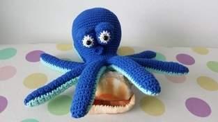Makerist - Octavius the octopus - 1