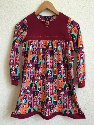 Makerist - Bohemian blouse and dress als Nachthemd Lillestoff Princess Castle - Nähprojekte - 1