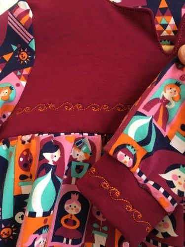 Makerist - Bohemian blouse and dress als Nachthemd Lillestoff Princess Castle - Nähprojekte - 2