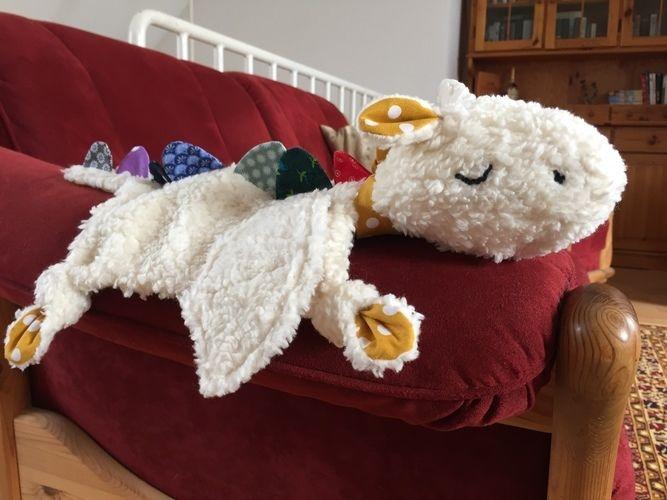 Makerist - Dragy - der drömelige Drachen  - Nähprojekte - 1