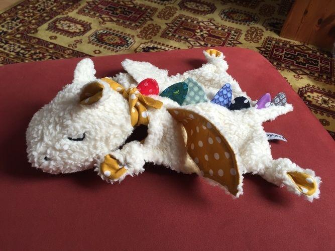 Makerist - Dragy - der drömelige Drachen  - Nähprojekte - 3
