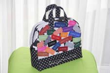 Makerist - Mini-Reisetasche mit Namen von Kollegen als Geldgeschenk - 1