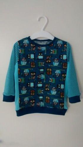 Makerist - Eulen Shirt mit Teilung - Nähprojekte - 1