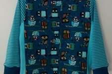 Makerist - Eulen Shirt mit Teilung - 1