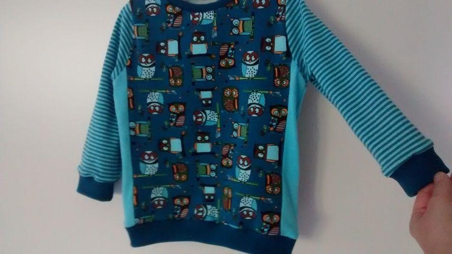 Makerist - Eulen Shirt mit Teilung - Nähprojekte - 3