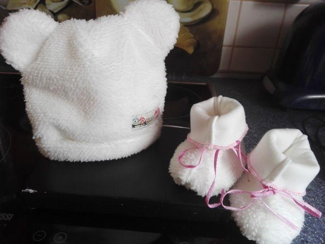 Makerist - Mütze und Schuhe für unser Minibaby - Nähprojekte - 1