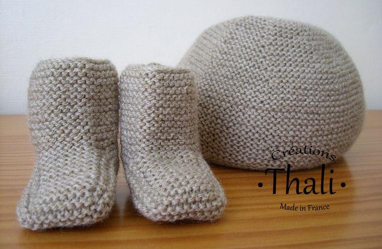 20b5435c39ca ... Makerist - Bonnet au point mousse, pour bébé - Créations de tricot - 2  ...