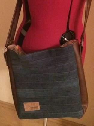Makerist - alte Jeans = neue Tasche  - 1