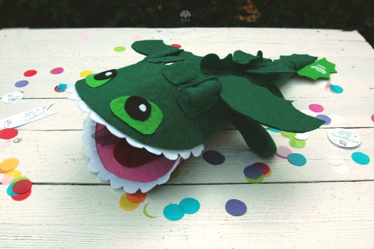 Makerist - Drachen-Schultüte - DIY-Projekte - 1