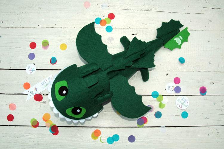 Makerist - Drachen-Schultüte - DIY-Projekte - 2