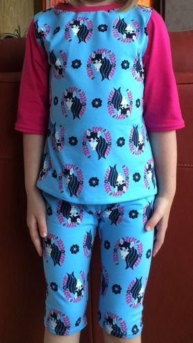 Makerist - Hose und Shirt für Pferdenärrin - Nähprojekte - 1