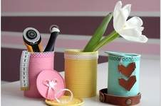 Makerist -  Upcycling: Konservendosen aufhübschen - 1