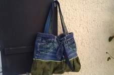 Makerist - Upcycling Jeanstasche  - 1