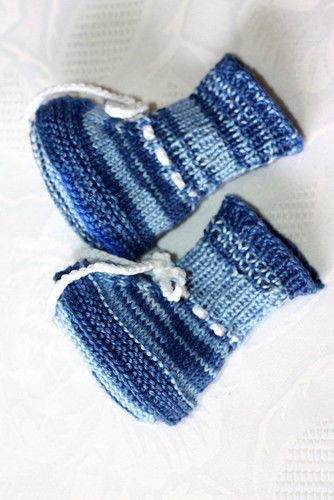 Makerist - kleine Booties - Strickprojekte - 3