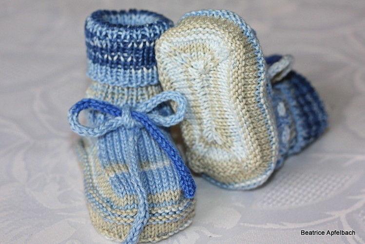 Makerist - Babyschuhe - Strickprojekte - 2