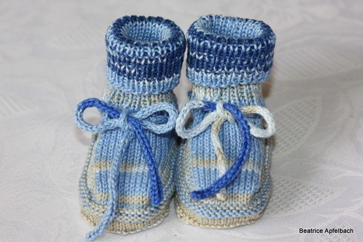 Makerist - Babyschuhe - Strickprojekte - 3