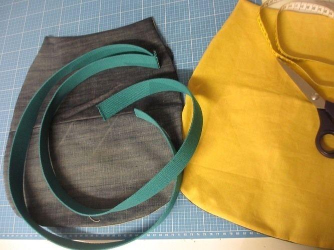 Makerist - Jeans Upcycling - eine Sommer-Bade-Tasche - Nähprojekte - 3