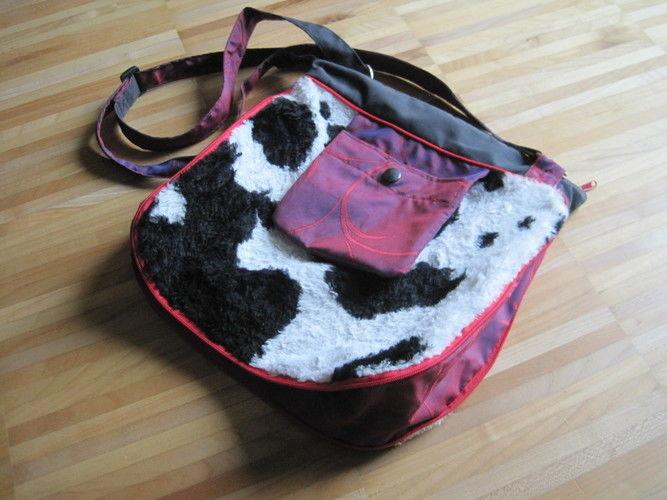 Makerist - Kuhfell-Tasche mit Vergrößerungseffekt - Nähprojekte - 1