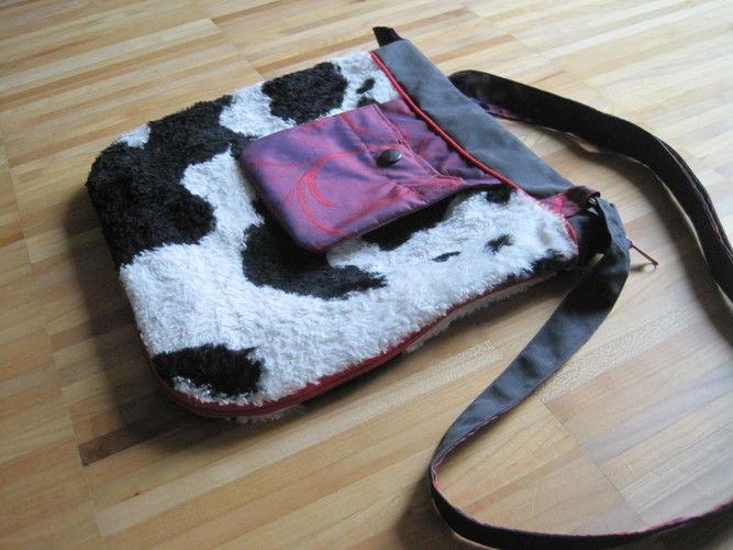 Makerist - Kuhfell-Tasche mit Vergrößerungseffekt - Nähprojekte - 3