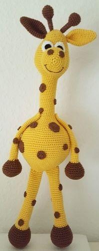 """Makerist - Giraffe """" Raffi"""" - Häkelprojekte - 1"""