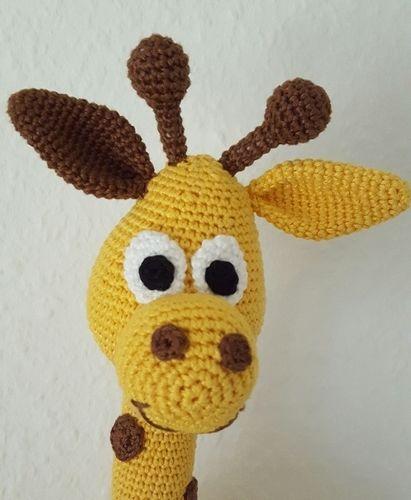 """Makerist - Giraffe """" Raffi"""" - Häkelprojekte - 2"""