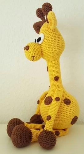 """Makerist - Giraffe """" Raffi"""" - Häkelprojekte - 3"""
