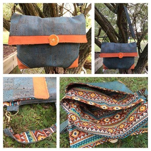 Makerist - Handtasche aus Korkstoff - Nähprojekte - 1