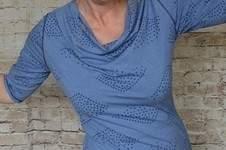 Makerist - Sunny als Shirt mit Wasserfallkragen - 1