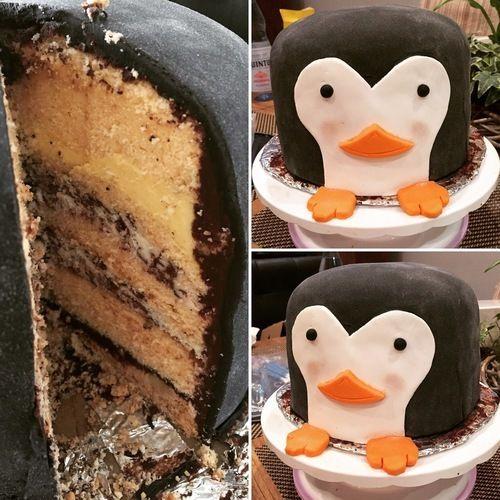 Makerist - Pinguin Torte - Torten, Cake Pops und Cupcakes - 1